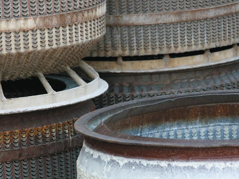 Reinigungsstrahlen - Waschkorb