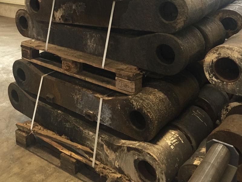 Reinigungsstrahlen - Maschinenteile Bergbau- Tunnelbau