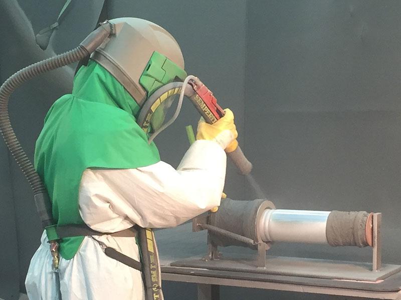 Strahltechnik Glasperlenstrahlen