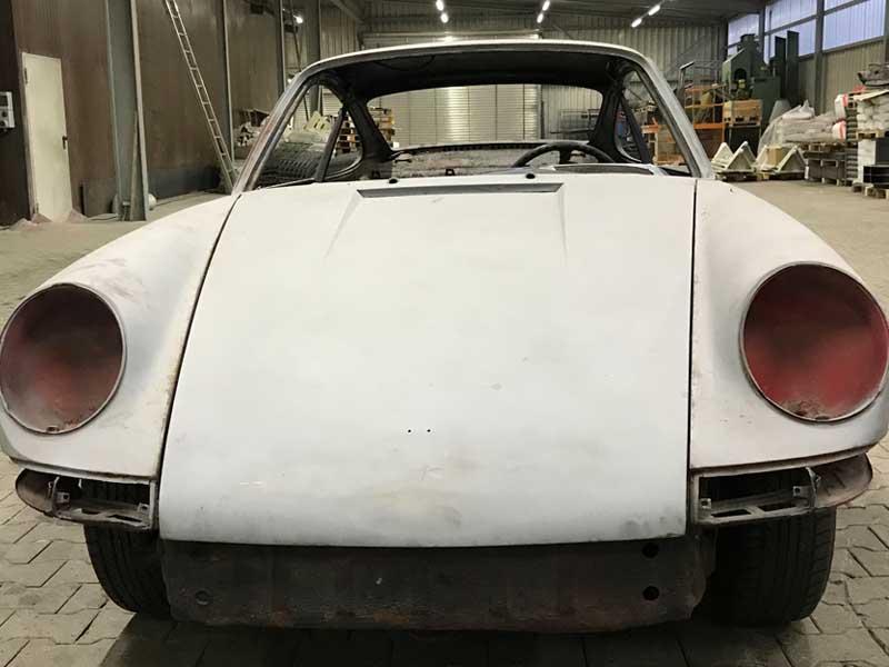 Sandstrahlen - Porsche 912